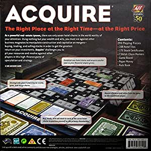 Acquire: A Board Game of Savvy Planning and Corporate Conquest