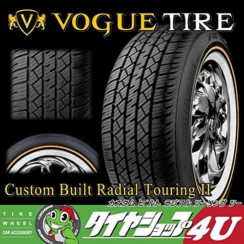 Vogue Custom Built Radial Touring II 215/65R15 96T SL WG イエローリボン&ホワイトリボン ラジアルタイヤ B01EMY615W