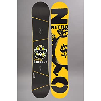 Nitro Planche De Snowboard Homme Swindle Taille 157 Amazon Fr