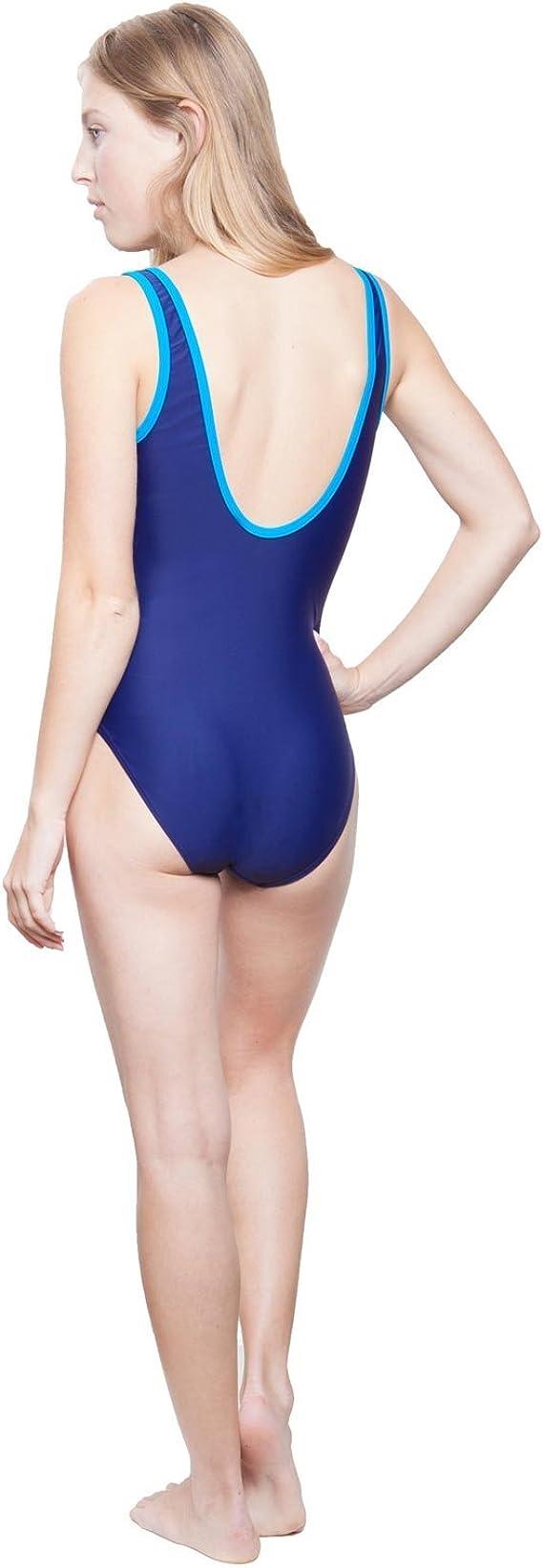 Slazenger M/ädchen Boyleg Schwimmanzug Kinder Badeanzug