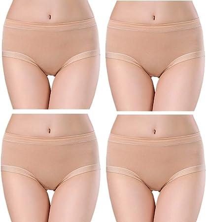 JZTRADING Bragas Menstruales Bragas Mujer Algodon Pack Costura ...