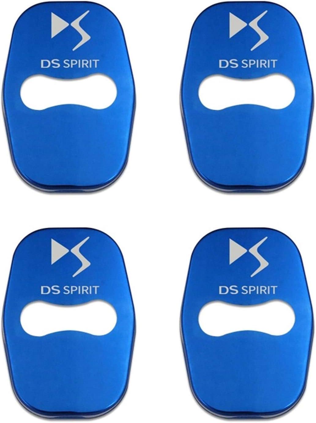 Color Name : DS Black Le couvercle de la serrure de la porte de voiture de voiture Styling automatique Embl/èmes cas for DS ESPRIT DS3 DS4 DS4 DS5 DS 5LS DS6 DS7 Accessoires