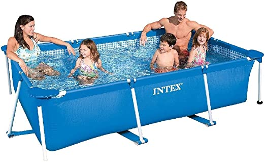 Intex 28270NP Small Frame - Piscina desmontable, 220 x 150 x 60 cm, 1.662 litros: Amazon.es: Jardín