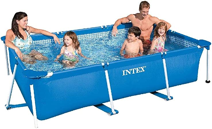Intex 28270NP Small Frame - Piscina desmontable, 220 x 150 x 60 cm ...