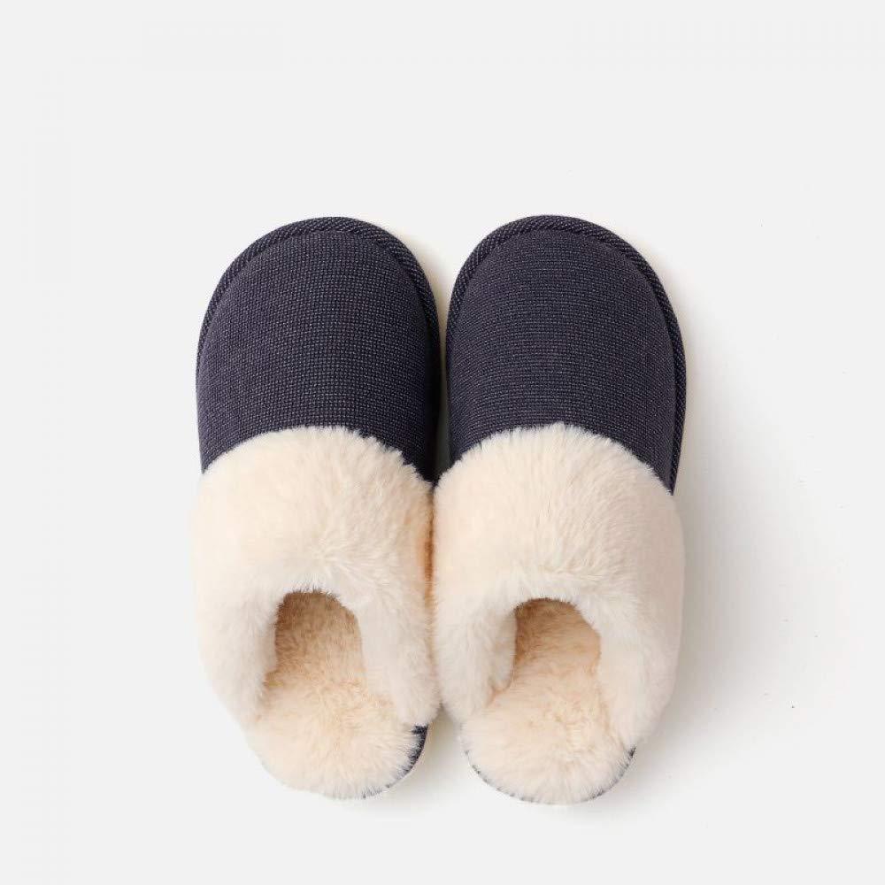 SALICEHB 2018 Heimat Paar Winter Warme Plüsch Hausschuhe Winter Baumwolle Hausschuhe Weibliche Männliche Indoor Hause B07JJWM7QF Sport- & Outdoorschuhe Lassen Sie unsere Produkte in die Welt gehen