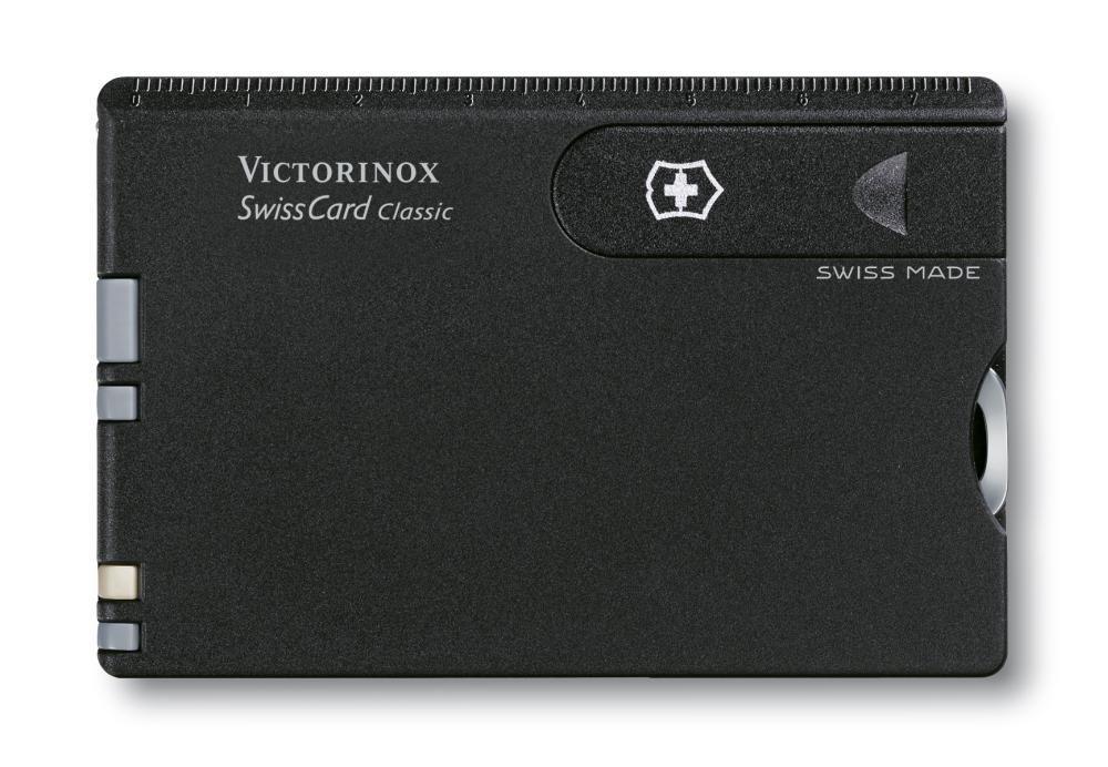 STANDARD Victorinox Taschenwerkzeug SwissCard Brief/öffner Geh/äuse schwarz