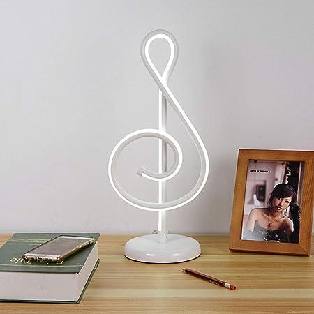 Musical símbolo lámpara de Mesa Creativa Ojo protección Escritorio ...