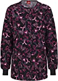 Dickies 84300C Women's Missy Fit Round Neck Jacket Care and Love X-Small
