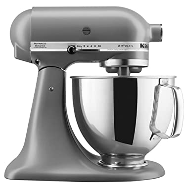 KitchenAid RRK150FG 5 Qt. Artisan Series - Matte Grey (Certified Refurbished)
