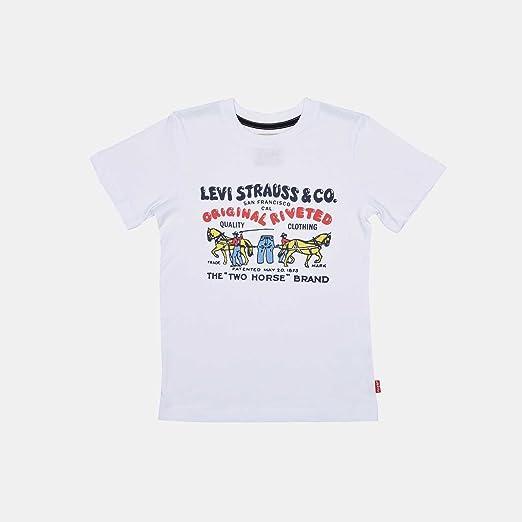 Levis Camiseta Levis Colhors Blanca: Amazon.es: Ropa y accesorios