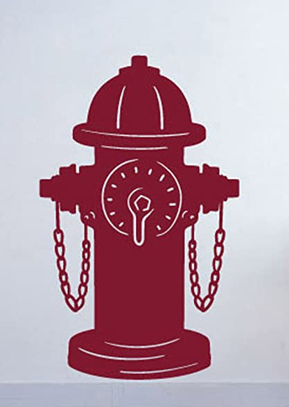 Fire Hydrant Wall Sticker
