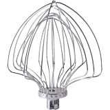 KN211WW 11-Wire Whip by Podoy Compatible with KB KD2661 KP26M1X KP2671 KV25G,Fits for 5 and 6 Quart Lift Stand Mixer