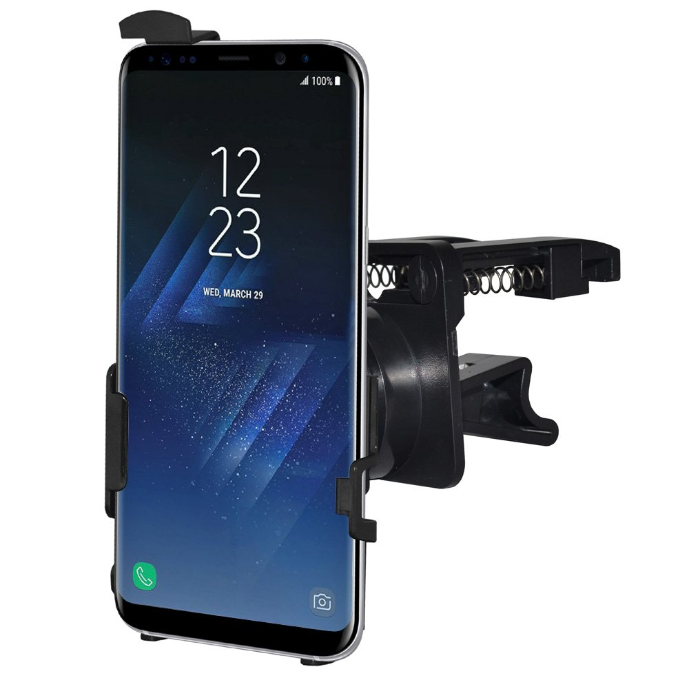 Air Vent Mount AMZER Slim Swiveling Air Vent Vehicle Car Truck Mount Holder Car Mount for Samsung Galaxy S8 Plus