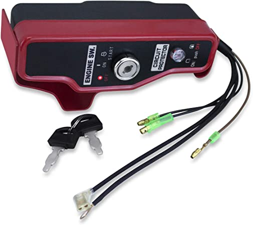 Amazon.com : Everest New Ignition Switch & Box with Keys Compatible with Honda  GX240 GX270 Engines : Garden & OutdoorAmazon.com