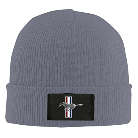 Unisex Ford Mustang Winter Beanies Cap  Amazon.ca  Clothing   Accessories 87b65288f87
