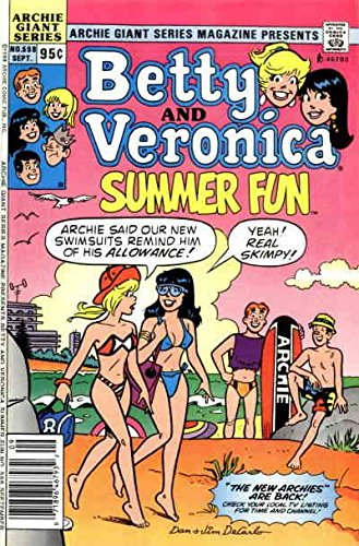 Archie Giant Series Magazine #598 (Newsstand) VF ; Archie comic book