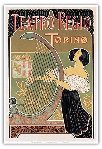 Teatro Regio Regio Theater - Torino Turin, Italy - Art Nouveau - La Belle