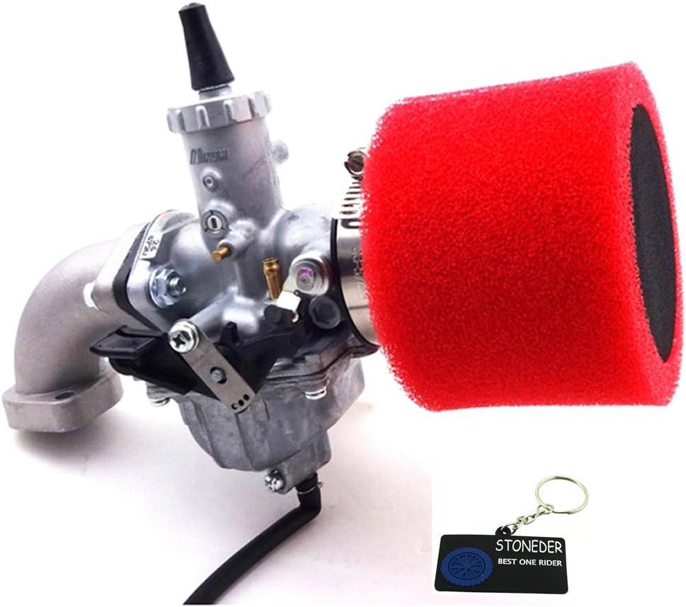 Stoneder 30 Mm Mikuni Vm26 Vergaser Luftfilter Ansaugrohr Für Yx 150 Cc 160 Cc Pit Dirt Bike Auto