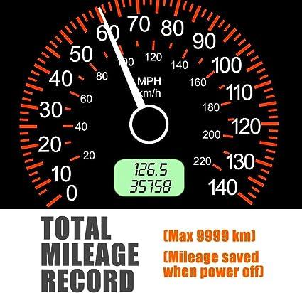 C60S TOOGOO Universal GPS Head Up Display Speedometer Odometer Car Digital Speed Display Mph Over Speeding Alarm Car Clock for All Vehicles C60//C60S//C80//C90