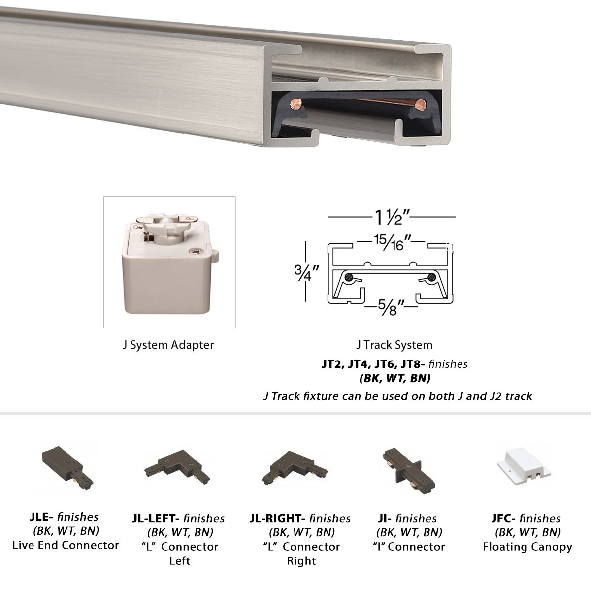 WAC Lighting J-LED207-30-WT Contemporary Summit ACLED 15W Beamshift Line Voltage Cube J-Track Head by WAC Lighting (Image #7)