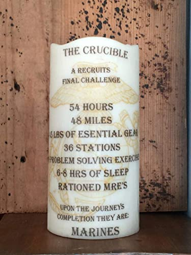 photo regarding Crucible Candle Printable named Crucible Candle For The United Claims Maritime Corps Usmc