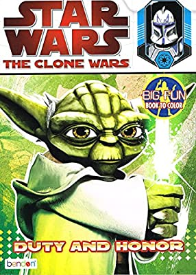 Star Wars The Clone Wars Big Fun Book to Color ~ Duty and Honor (96 Pages)