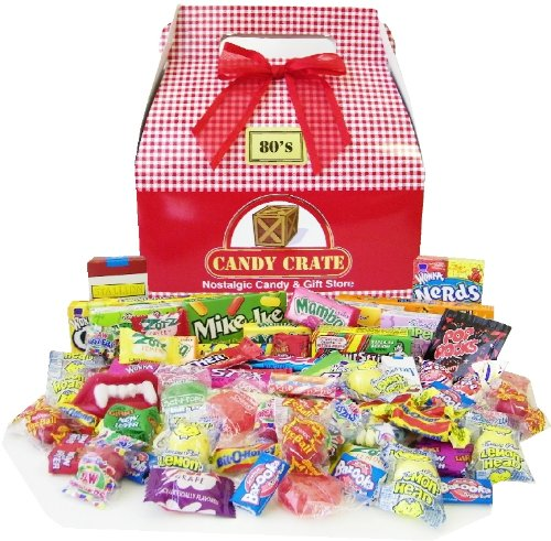 1980's Valentine Retro Candy Assortment