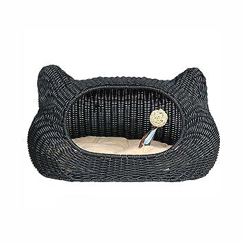 Yuan Casa para Mascotas Cama para Mascotas Casa para nidos de Gatos Jaula para Gatos Perrera