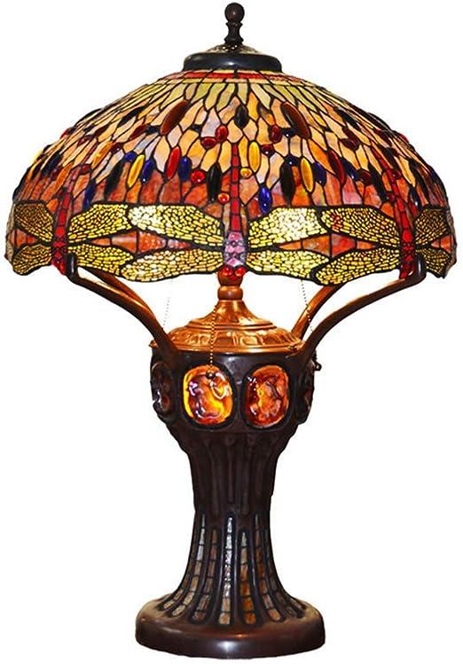 Dream Edge Lámparas Tiffany, 20 Pulgadas de Estilo Europeo clásico ...