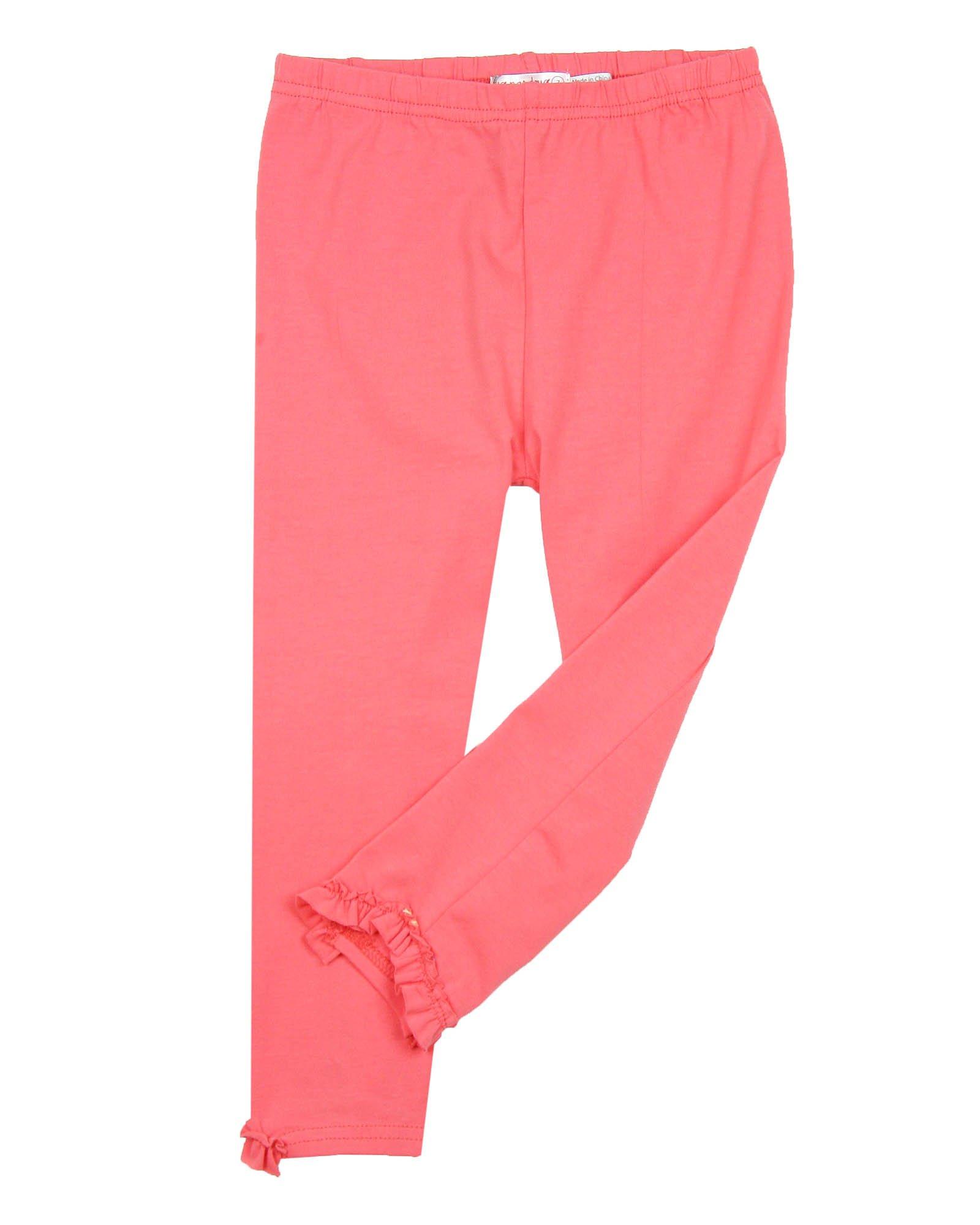 Deux par Deux Girls' Coral Capri Leggings Cold Press Fashion, Sizes 5-12 - 7