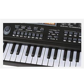 Amazon.com: Zhao Xiemao Kids Toys Teclado De Piano Musical para Niños, Micrófono De Juguete Musical, Cable De Carga, 61 Teclas Birthday Kids Adults: Home & ...