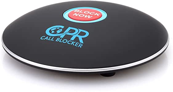 CPR Call Blocker Shield - Sleek Design Pre-Programmed With 2000 Known Nuisance Callers - Block Scam And Unwanted Calls at the Touch of a Button