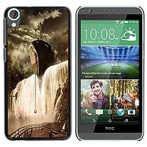 Dragon Case - FOR HTC Desire 820 - is worth doing - Caja protectora de pl??stico duro de la cubierta Dise?¡Ào Slim Fit