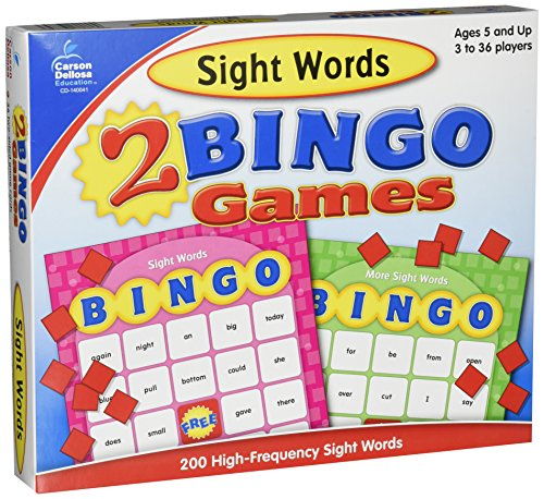 - Sight Words Bingo