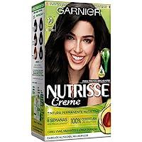 Coloração Nutrisse Creme 10, Ônix, Garnier