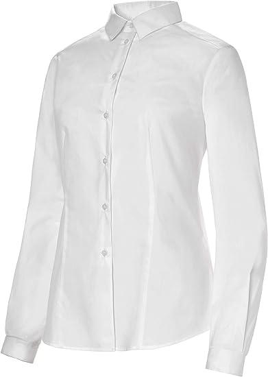 Camisa de Camarera Manga Larga Cuello Camisero Mujer. Ropa Camarera/Hosteleria Ref: 2257