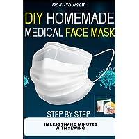 DIY HOMEMADE MEDICAL FACE MASK: Reusable Face-Mask,Protective Medical Mask, Washable...