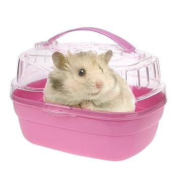 Hamster House Cabina Jaula para Hámster Pequeños Animales Estuche ...