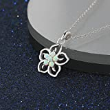 Create Opal Pendant Necklace Sterling Silver