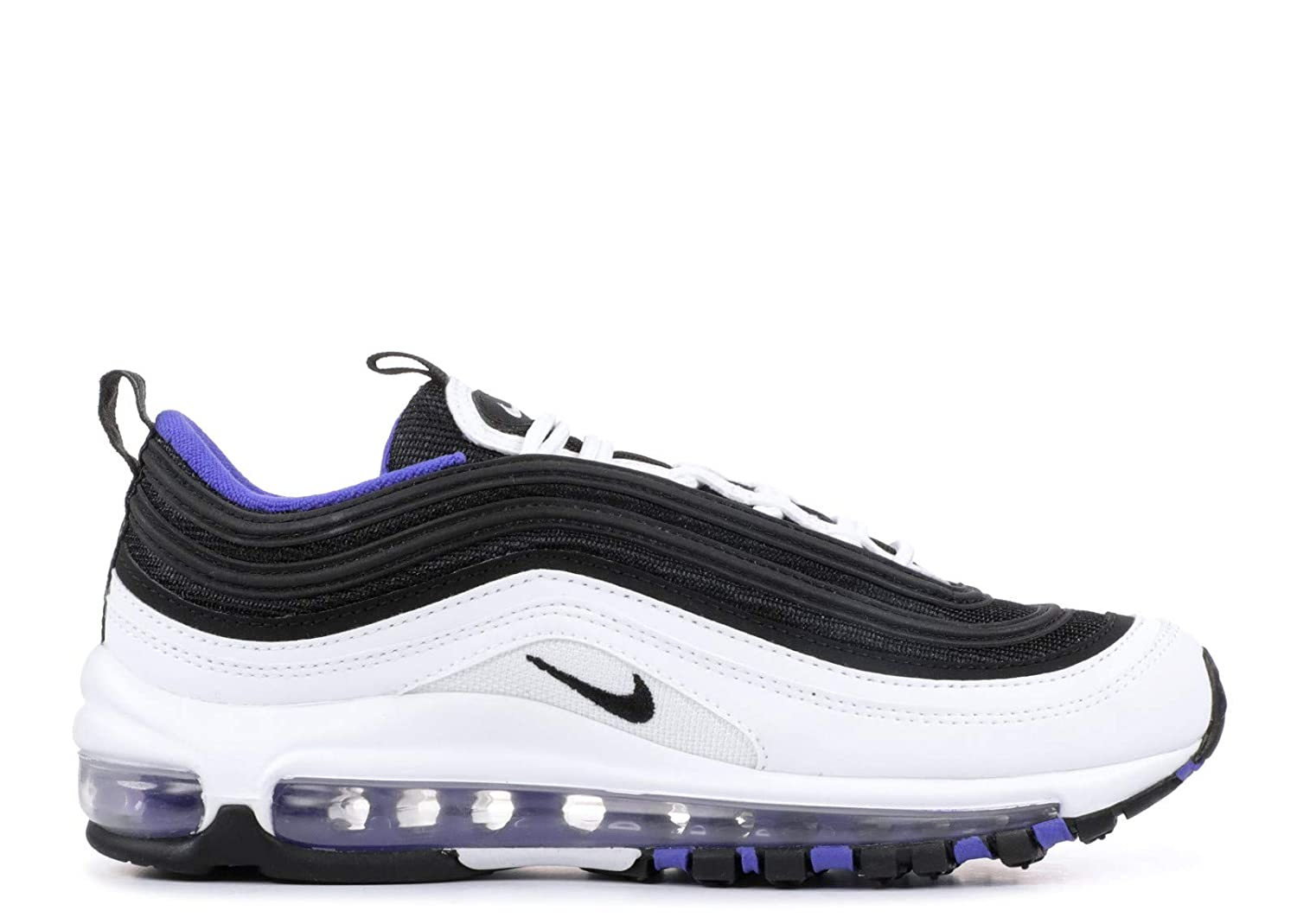 a4846261133ce Amazon.com | Nike Air Max 97 White/Black-Persian Violet (GS) | Running