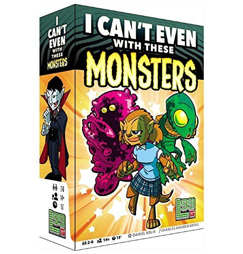 Level 99 Games I Can't Even with These Monsters Basic Card Game