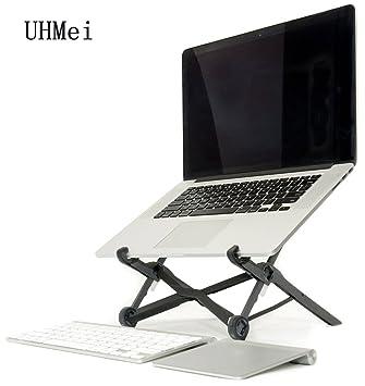 UHMei - Soporte ergonómico portátil Plegable para Ordenador portátil - Soporte para PC y MacBook Nexstand K2: Amazon.es: Hogar