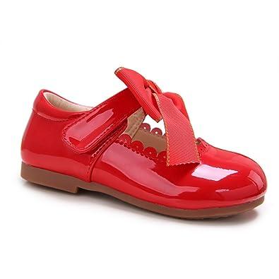 Pettigirl - Mocasines para niña, Color Rojo, Talla 39.00: Amazon.es: Zapatos y complementos