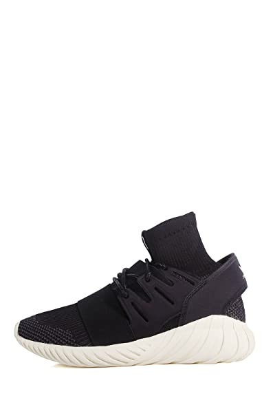 adidas Tubular Doom PK Sneakers – Chaussures de Gymnastique avec Chaussette  incorporé - - Noir 2138ec3b233