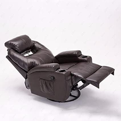 GMS Massage Recliner Leather Sofa Chair