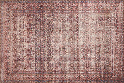 Loloi LORELQ-05EGCS5076 Loren Collection Traditional Area Rug, 5'-0