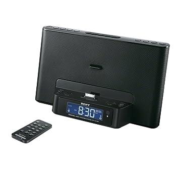 Sony ICFDS15IPB - Radiodespertador Para Para IPod/iPhone 3GS ...