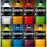 Powerade Ion4 Advanced Electrolyte System MOUNTAIN BERRY BLAST®, ORANGE, FRUIT PUNCH, GRAPE, LEMON LIME, MELON, WHITE CHERRY, STRAWBERRY LEMONADE & TROPICAL MANGO Flavor (Pack of 10)