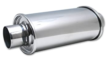 "Vibrant 1142 3/"" Ultra Quiet Resonator Exhaust System Car MUFFLER"
