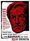 FILM MOVIE MASQUE RED DEATH VINCENT PRICE HORROR ART PRINT POSTER BB7892